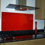 Safeguard Glass Cooker Kitchen Splash Back