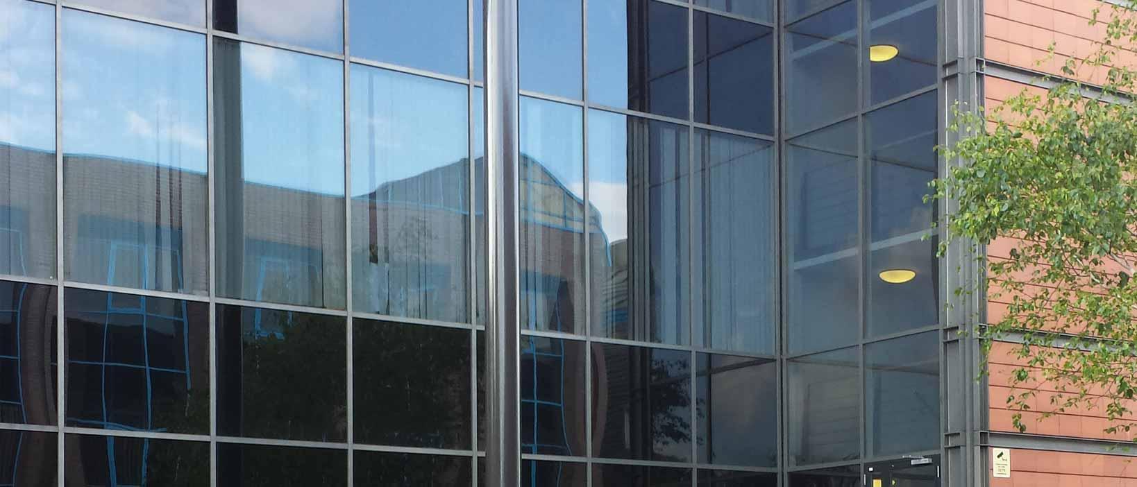 Safeguard Glass Curtain Wall