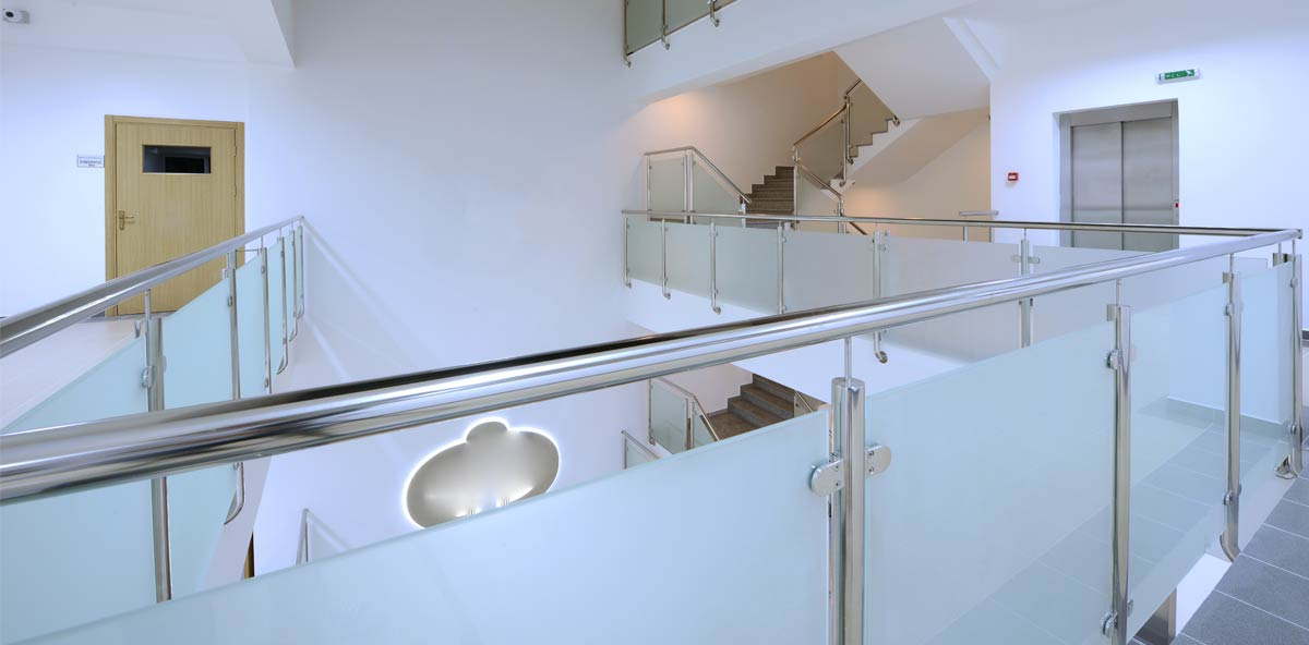 Safeguard Glass Balustrade